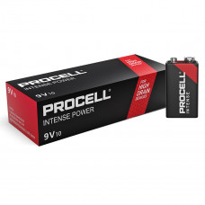 Duracell PROCELL INTENSE Professional PX1604, 6LR61, 9V, PP3 - 10 броя