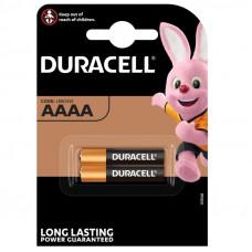 Duracell AAAA, MN2500, 1.5V - комплект 2 броя
