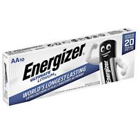 Energizer Ultimate LITHIUM L91 LR6, AA, MN1500 - комплект 10 батерии