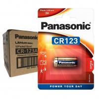 Panasonic CR123A PHOTO Lithium - комплект от 10 батерии