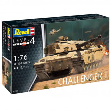 Revell Challanger I  1:76 100 части