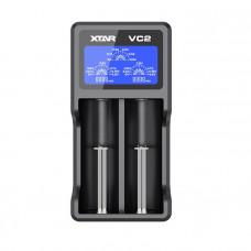 Зарядно устройство и тестер с LCD за 3.6V и 3.7V Li-Ion акумулаторни батерии XTAR VC2