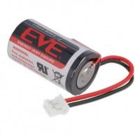 Батерия EVE ER 14250JST с кабел Li-SOCl2, 3.6V, 1/2AA