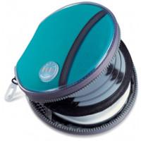 Кaлъф Avec Aqua за Discman с кръгла форма и 4 CD