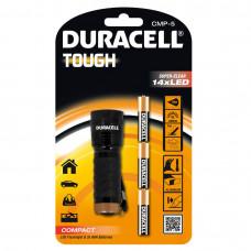 Електрически компактен алуминиев фенер Duracell Tough™ CMP-5 3AAA - 14 LED