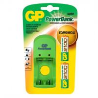 GP PowerBank® S360 комплект с 2 броя AA, R6, 2100mAh