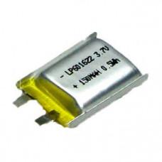 Индустриална акумулаторна батерия Li-Pol  3.7V, 150mAh, LP601622, 1S1P