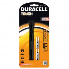 Електрически персонален алуминиев фенер Duracell Tough™ SLM-10 2AA - 3 LED