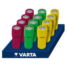 Електрически гумиран водоустойчив фенер Varta 9 LED Light 3АAA
