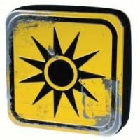 """Метална кутия Deja """"радиация"""" за съхранение на 24 CD или DVD Tin it!"""