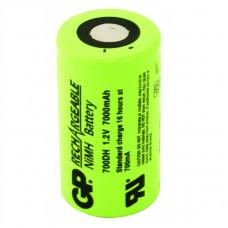 Индустриална акумулаторна батерия GP700DH, D, 7000mAh