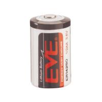Батерия EVE ER14250, Li-SOCl2, 3.6V, 1/2AA
