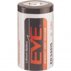 Батерия EVE ER34615 Li-SOCl2, 3.6V, D