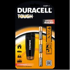 Електрически компактен алуминиев фенер Duracell Tough™ CMP-1 3AAA - 6 LED