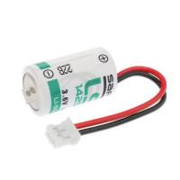 Батерия Saft LS 14250JST с кабел Li-SOCl2, 3.6V, 1/2AA