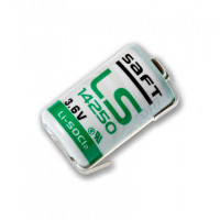 Батерия Saft LS 14250CNR Li-SOCl2, 3.6V, 1/2AA