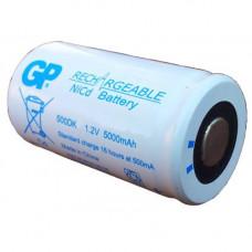 Индустриална акумулаторна батерия GP500DK, D, 5000mAh