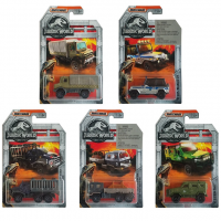 Armored Action Transporter Jurassic World Matchbox Diecast