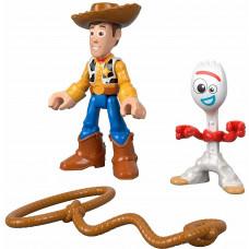 Фигурки Forky Woody, Форки Уди, аксесоари, Imaginext, Toy Story, Играта на играчките