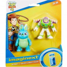 Фигурки Bunny, Buzz, Бъни, Бъзз, Imaginext, Toy Story, Играта на играчките