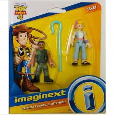 Фигурки Combat Carl Bo Beep, Комендант Карл и Бо Биип, аксесоар, Imaginext, Toy Story, Играта на играчките