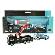 Играчка камион повдигач и количка Truck combination