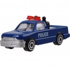 Играчка полицейски пикап, Die Cast, мащаб 1:64