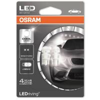 LED лампи Osram W5W COOL WHITE LEDriving 6000K, 12V, студена светлина