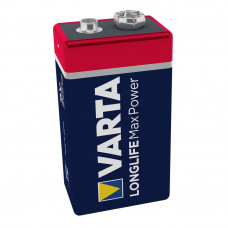 Алкална батерия Varta Max Tech MN1604, 6LR61, 9V