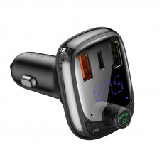 Baseus T TYPED Bluetooth 5.0 трансмитер MP3 Charger QC 4.0
