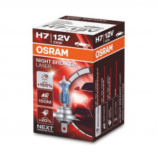 Osram H7 Night Breaker Laser +150% автолампа за предни фарове PX26d