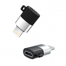 XO micro USB към Lightning адаптер