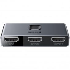 Baseus Matrix двупосочен HDMI 4K разклонител / splitter, 2x1 и 1x2