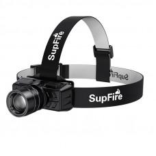 Акумулаторен челник SupFire HL50 Zoom, 300lm, 200m