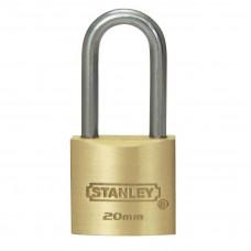 Месингов катинар Stanley® Solid Brass 20 mm Kwikset удължена скоба