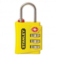 Цинков катинар Stanley® TravelMAX 30 mm Kwikset TSA Security Indicator жълт